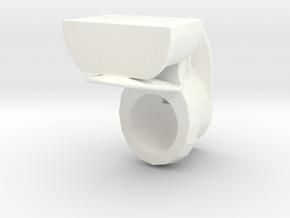 Toilet Open in White Processed Versatile Plastic: 1:32