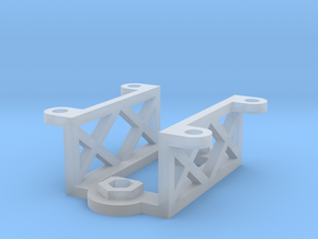 SG90 micro servo bracket in Smooth Fine Detail Plastic