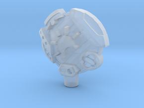 Earth 5mm Cyberkey in Smooth Fine Detail Plastic
