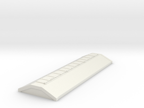 7mm PAA Grainflow wagon top in White Natural Versatile Plastic
