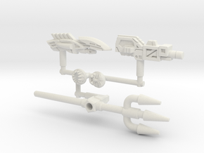 Octopunch Kit for Solus Prime (3mm, 5mm) in White Natural Versatile Plastic: Small