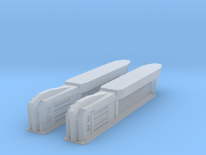 Pointy-Eared Adversary Nacelles 4 in Smooth Fine Detail Plastic
