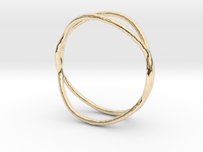 Ring 02 in 14k Gold Plated Brass