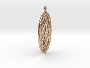 Ovalisk in 14k Rose Gold Plated Brass