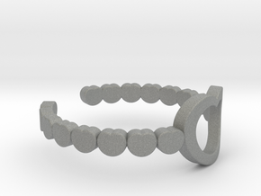 ring 03a in Gray Professional Plastic