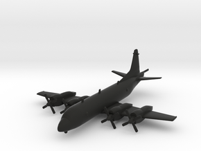 Lockheed P-3 Orion in Black Natural Versatile Plastic: 1:239