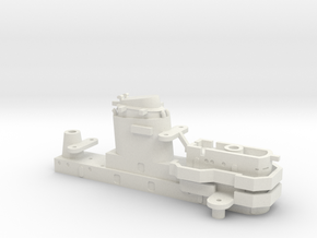 1/700 USS Kentucky BBAA-66 Bridge (G) in White Natural Versatile Plastic