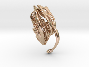 Somaextatic Bead Bracelet - Single Add-on Bead in 14k Rose Gold Plated Brass