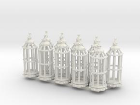 Gibbet type 1 x10 in White Natural Versatile Plastic