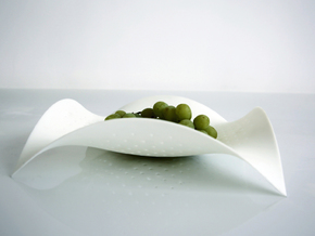 Cuttledish in White Natural Versatile Plastic