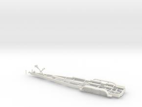 1/48 Myco Trailer - speedboat trailer in White Natural Versatile Plastic
