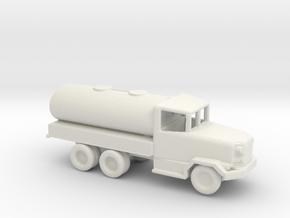 1/200 Scale M-49 Fuel Truck in White Natural Versatile Plastic