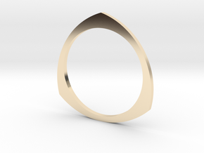 Reuleaux 16.00mm in 14K Yellow Gold