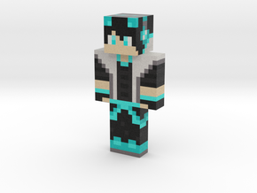 2018_09_09_blue-wolf-boy-12461162 | Minecraft toy in Natural Full Color Sandstone