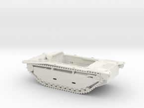 1/48 LVT-2 Amtrac in White Natural Versatile Plastic