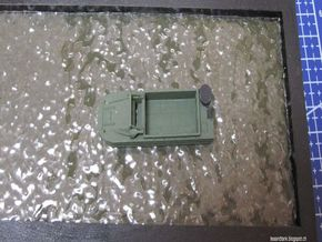 1/144 DUKW truck waterline in White Natural Versatile Plastic