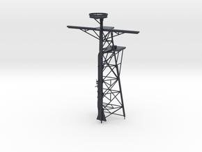 1/96 Scale Ticonderoga Mast #2 - Tall mast in Black PA12