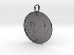 Buer Medallion in Polished Nickel Steel
