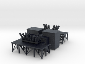 1/96 scale Terma SKWS decoy system w/ Platform, Am in Black PA12