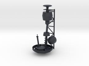 1/72 scale Burke Mast - Top Version 1 in Black PA12