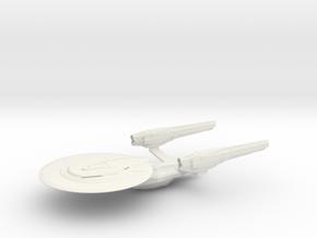 USS Excelsior (2009) / 15cm - 5.9in in White Natural Versatile Plastic