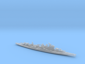 UK BC Hood [KGV Style 1942 Refit] in Smooth Fine Detail Plastic: 1:1200