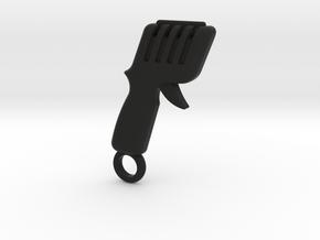 Slot Car Controller Keychain in Black Premium Versatile Plastic