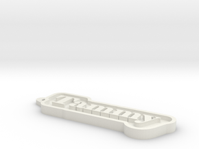 Tammy Name Tag in White Natural Versatile Plastic
