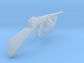 Thompson M1928 Drum mag (1/18 Scale) in Smooth Fine Detail Plastic: 1:12