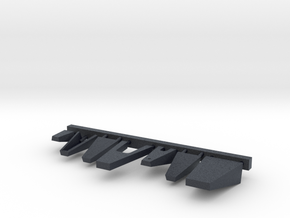 1/144 Burke - Bridge Platforms in Black Professional Plastic