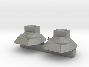 "1V119 ""Reostat""  conversion Turret ( x2)  in Gray Professional Plastic"