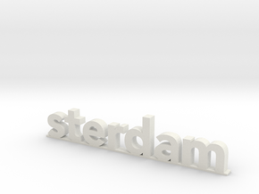I amsterdam (2/2) in White Natural Versatile Plastic