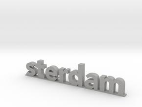 I amsterdam (2/2) in Aluminum
