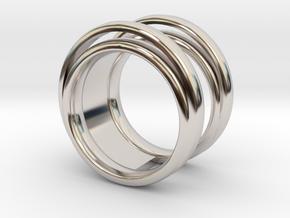 Luna ring  in Platinum