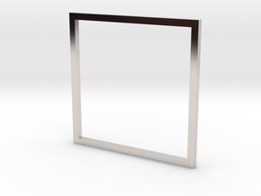 Square 18.89mm in Platinum