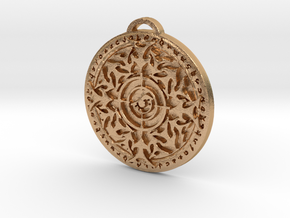 Hunter Class Medallion in Natural Bronze