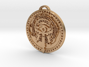 Mage Class Medallion in Natural Bronze
