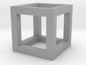 hyper cube in Aluminum