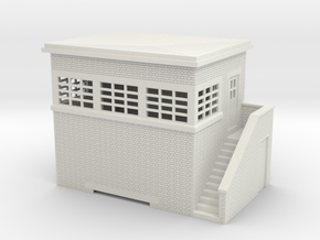 z-87-lms-arp-signal-box-small-rh in White Natural Versatile Plastic