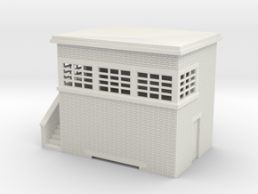 z-87-lms-arp-signal-box-small-lh in White Natural Versatile Plastic