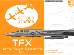 Experimental Aircraft - Shapeways Miniatures