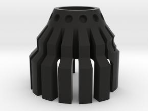 1-Crossguard-2.0 (Korbanth) Part-7 in Black Natural Versatile Plastic