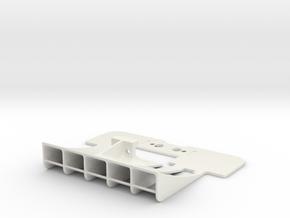 Mini-Z Mer. Sauber C9 rear diffuser brushless mot. in White Natural Versatile Plastic