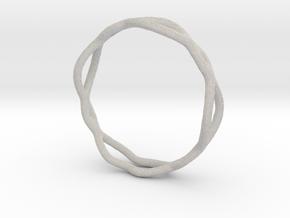 Ring 07 in Natural Full Color Sandstone