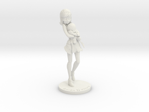 Gwen Stacy in White Natural Versatile Plastic