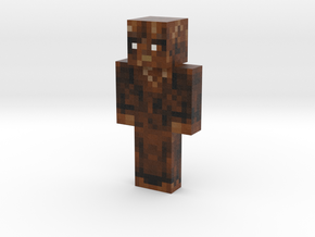 LittleSasquatch | Minecraft toy in Natural Full Color Sandstone