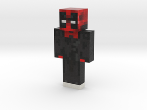 ProfessorDani | Minecraft toy in Natural Full Color Sandstone