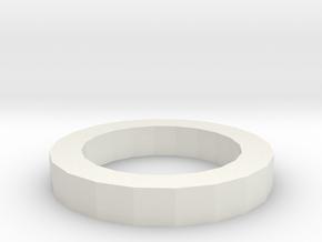 CM-9-FR in White Natural Versatile Plastic