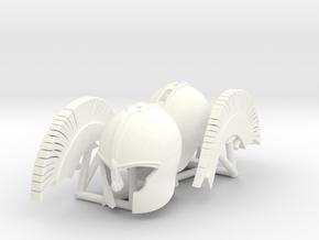 TROY_ACHILLES_3 in White Processed Versatile Plastic
