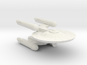 3788 Scale Federation Heavy War Destroyer (HDW) WE in White Natural Versatile Plastic